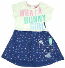 Girls Chainstore Bunny Girl Applique Rabbit Cotton Dress 1 to 4 Years NEW
