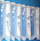 JUNIPER CAFE NET CURTAIN - TOP VALUE LACE DESIGN - 3 DROPS - SOLD BY THE METRE