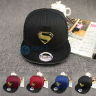 Unisex Cartoon Logo Faux Leather Peak Mesh Baseball Cap Men Snapback Hip-hop Hat