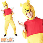 Adults Disney Winnie The Pooh Mens Womens Fancy Dress Costume Outfit