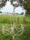 Large Wrought Iron Ava Candle Light Chandelier Candelabra