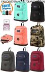 Jansport Austin Synthetic Leather Bottom 100% Authentic School Book Bag Daypack