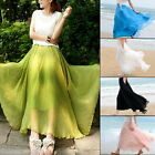 Women Summer Casual Chiffon Skirts Boho Dress Beach Wear
