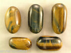 TIGERS EYE hand polished for confidence strength compassion grounding 45-48mm