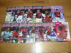 Burnley Home Football Programmes 2000/2001 Season Inc F.A.Cup