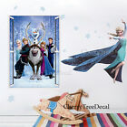 2 Packs- FROZEN Wall Stickers Elsa Anna Olaf Girls Kids Bedroom Art Decal Decor