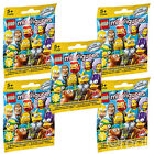 New LEGO 1 5 Or 10 Series 2 The Simpsons Minifigures Mystery Blind Bag Official