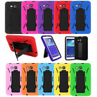 Heavy Duty Armor Hybrid Cover Case for Samsung Galaxy Tab A E 2 3 4 S S2 Lite фото