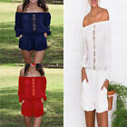 Summer New Lady Fashion Clubwear Playsuit Bodycon Party Jumpsuit Romper Trousers