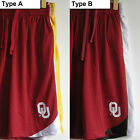 New Oklahoma Sooners OU Lined basketball pockets Mesh Sewn shorts pant Red sz M