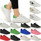 LADIES WOMENS LACE UP VELCRO TRAINERS CLASSICS RETRO SPORTS SNEAKERS PUMPS SIZE