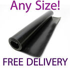 All Sizes Black Solid Shotblast Rubber Sheeting Industrial Rolls