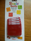 SIZZIX SIZZLITS DOODLE DIES FLOWER SET 4 IMAGES BLOOM 3 FLOWERS NEW