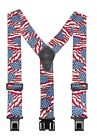 "Perry Suspenders Extra Tall - Solid Colors and Prints 54 Inches 2"" wide"