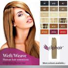 Remy Human Hair Silky Weft/Weave Extensions