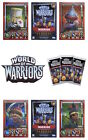 Topps World Of Warriors Trading Cards. Limited Edition Warrior Cards