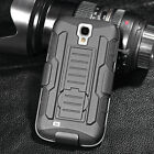 Shockproof Drop Proof Heavy Duty Belt Clip Shell Holster 3 in1 Case For Phones