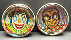 1940s Tin Dexterity Puzzle JAPAN Clown or Indian