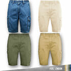 Mens Chino shorts Cargo Combat Summer Cotton Work Half Pant Casual Designer New