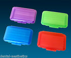 Orthodontic Wax  x 4 ~ Coloured Cases Dental Brace Relief ~ 4 Boxes of 5 Strips