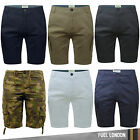 Mens Cargo Shorts Camo Summer Cotton Jeans Chino Half Pant Casual Designer New