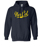 Nor Cal Script & Tail HOODIE - Hooded California Republic Sweatshirt  All Colors