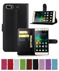 Litchi Leather wallet stand pouch Cover Case For Huawei Honor 4C G Play Mini