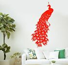 Wall Decal Beautiful Peacock Bird Room Decor Mural Vinyl Stickera (ig2815)