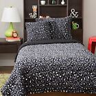 MICRO PLUSH 4 PIECE COMFORTER SET - CHEETAH