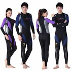 1.5mm Women's & MEN Snorkeling Suit WET Suit Scuba Diving Long Sleeve Jump Suit