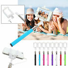 Extendable Handheld Wired Remote Shutter Selfie Stick Monopod For iPhone...