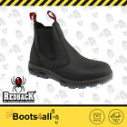 Redback Work Safety boots Shoes Easy Escape Bobcat Fire Station Uniform BlkUBBK