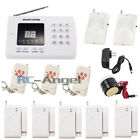 GSM PSTN 99 Zones LCD Display Voice Wireless Home Alarm Security System SMS Call