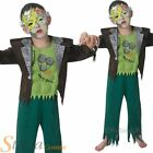 Boys Frankie Boy Frankenstein Jr Monster Halloween Kids Fancy Dress Costume
