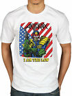 Official Anthrax I Am The Law Vintage T-Shirt Rock Amoung The Living Fistful Of