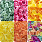Edible Mini Jelly Fruit Slices - Edible Sugar Cake Decoration - Novelty Sweets