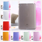 Ultra Thin Soft TPU Silicone Transparent Case Cover For iPad 2/3/4 Air/Air2 Mini