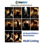 Batman Begins 2005 HD Photo Poster RD-9021 (A4 11.7x8.2 Inch)