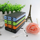 Upgrade 50000mAh 4USB Power Bank Portable LED Battery Charger For Cell Phone HOT