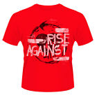 Rise Against 'Gratuito rise 5.1cm T-Shirt - NUOVO E ORIGINALE