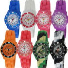 Ravel Children's Silicon Watch Sports Case Set with Plastic/Aluminium Top Ring