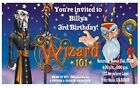 "Wizard101 Invitations-Customized 4 U! WE Print! 5"" x 3""  *12 REQUIRED* per order"