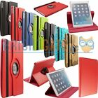 360 Swivel Rotating Leather Magnetic Smart Case Cover For 2014 Apple iPad 6 Air2