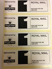 Royal Mail PPI FIRST CLASS  Self adheisive Labels, Printed with your details