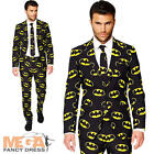 Batman OppoSuit Mens Fancy Dress DC Comic Book Superhero Adult Costume Outfit