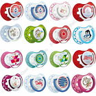 2 PCS ORTHODONTIC BABY SOOTHER DUMMY PACIFIER DYNAMIC TEAT LOVI COLOURFUL