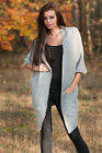 Top Woman Thick Cape Frodo Pregnancy Tunic Jumper Poncho Sweater Size 8-14