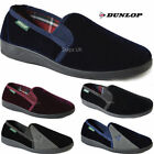 MENS SLIPPERS DUNLOP WARM TWIN GUSSET SLIP ON INDOOR SHOES SLIPPERS
