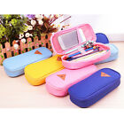 Stationery Canva Pencil Case Cosmetic Bag Travel Makeup Bag High Capacity Hot FM