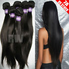 Amazing Grade Brazilian Peruvian Indian Virgin Human Hair Wave Straight 300g C81